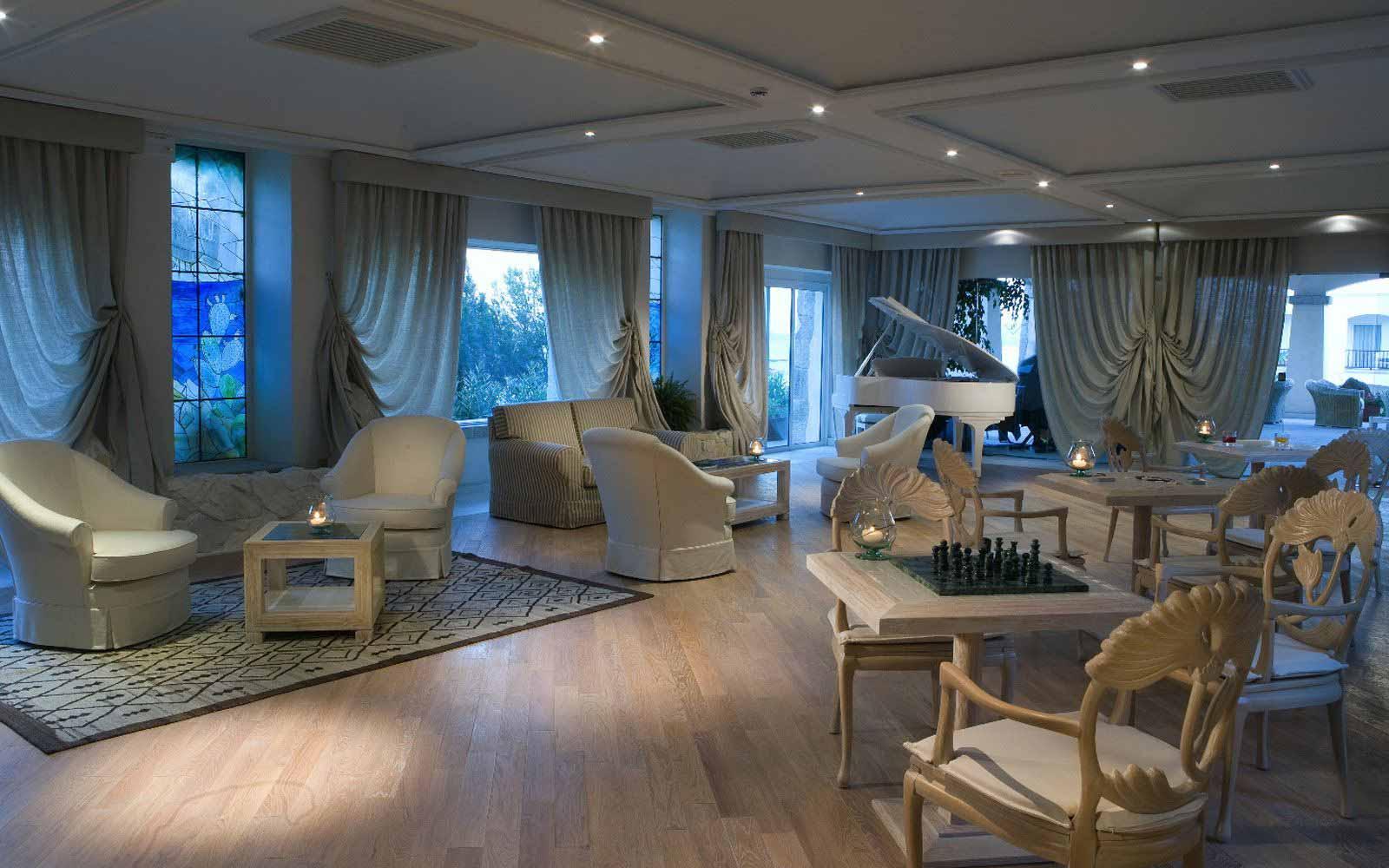 Bridge room at Hotel Petra Bianca