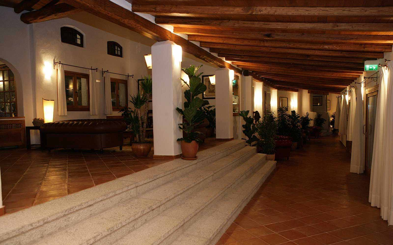 Interior of Hotel Sporting