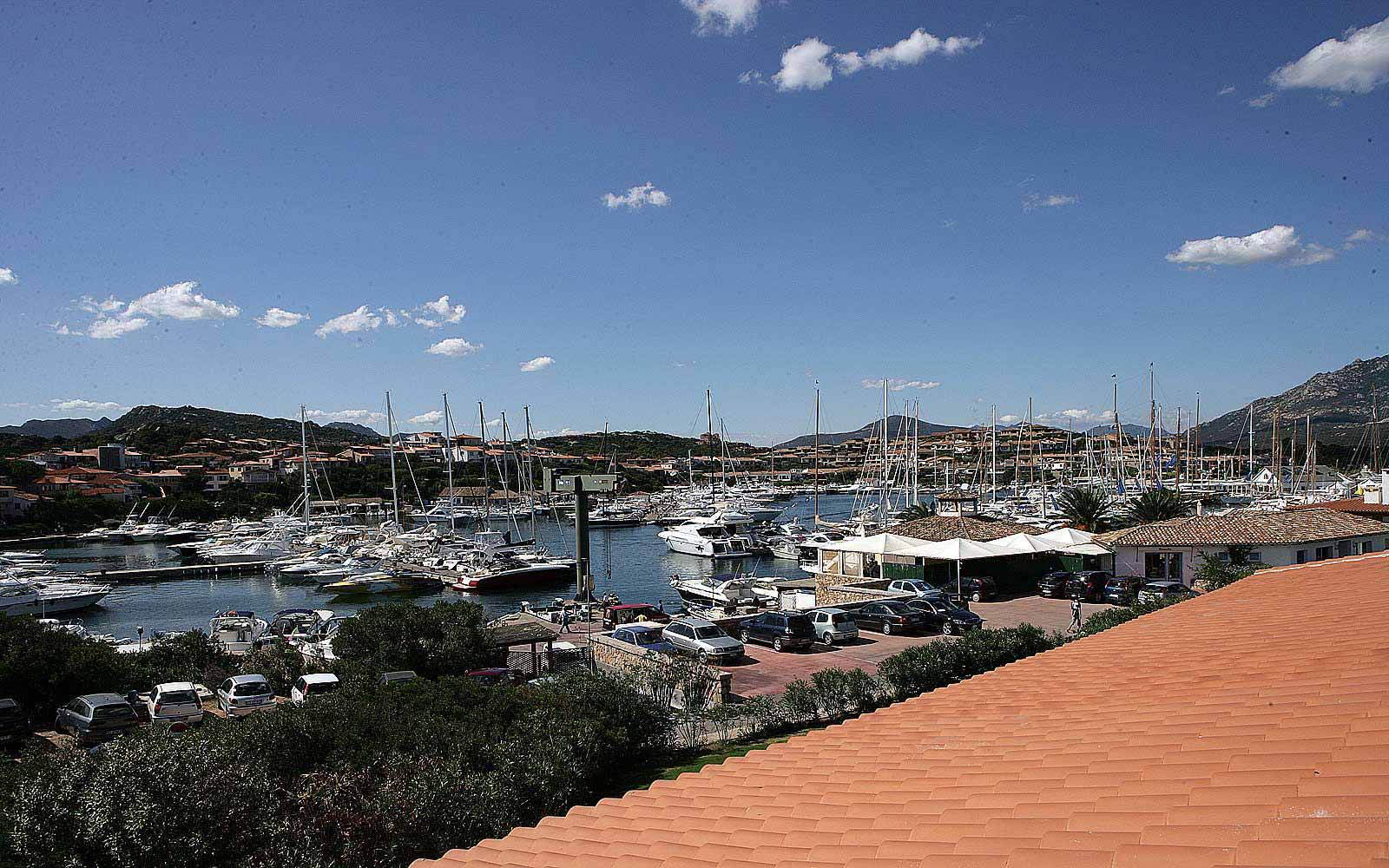 Porto Rotondo next to Hotel Sporting