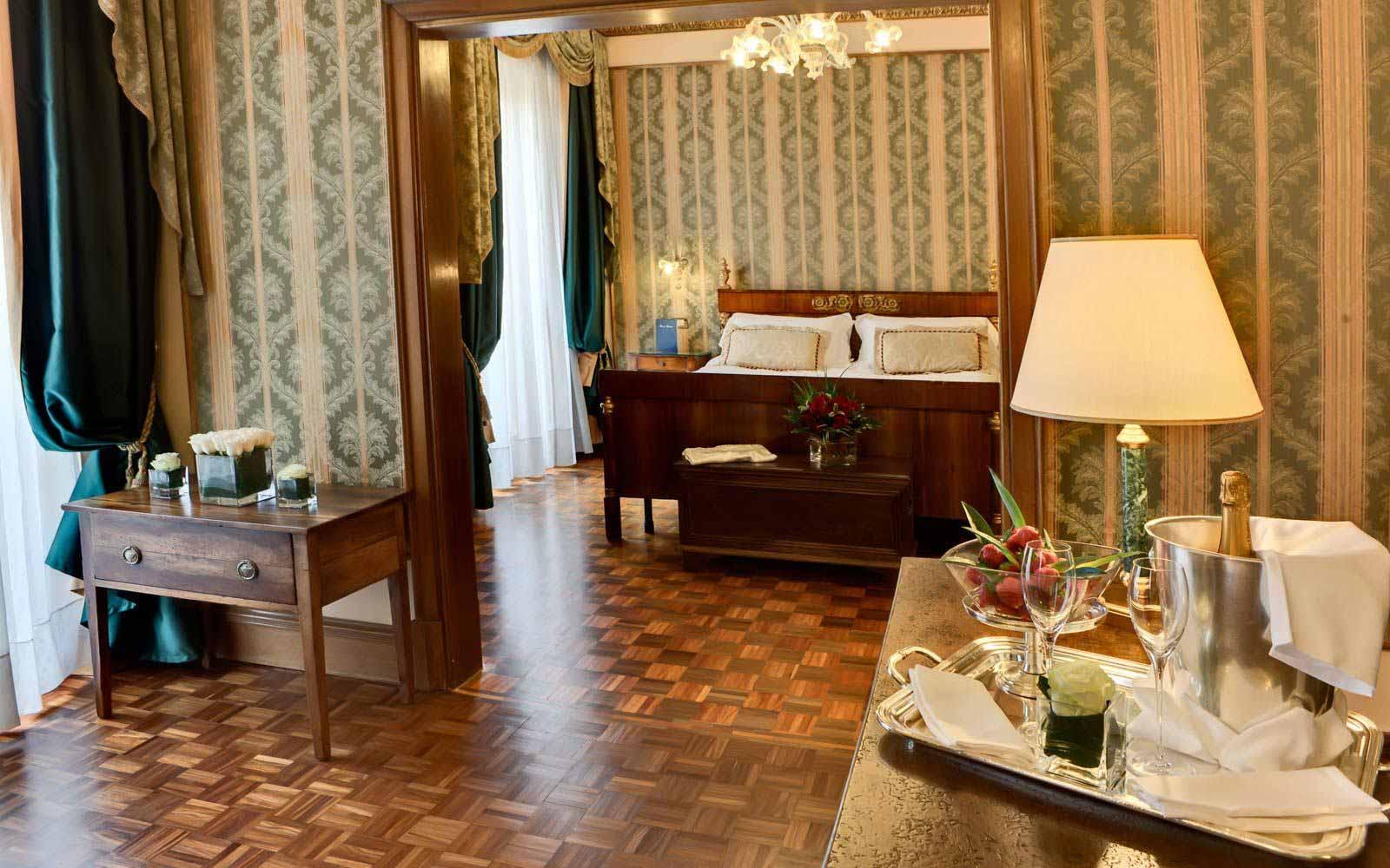 Maria Callas suite at Due Torri Hotel
