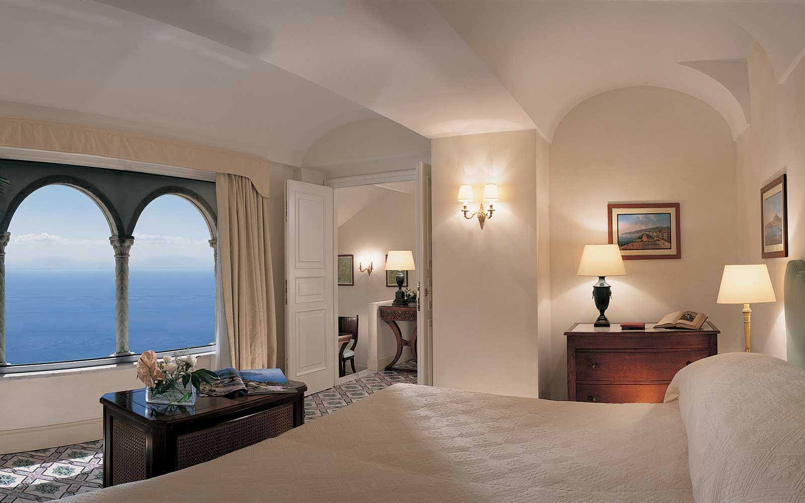 Deluxe Suite at Belmond Hotel Caruso