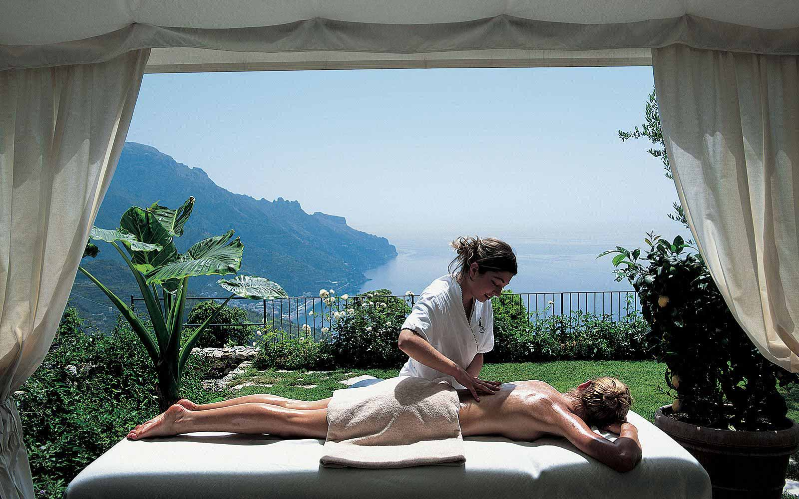 Spa at the Belmond Hotel Caruso