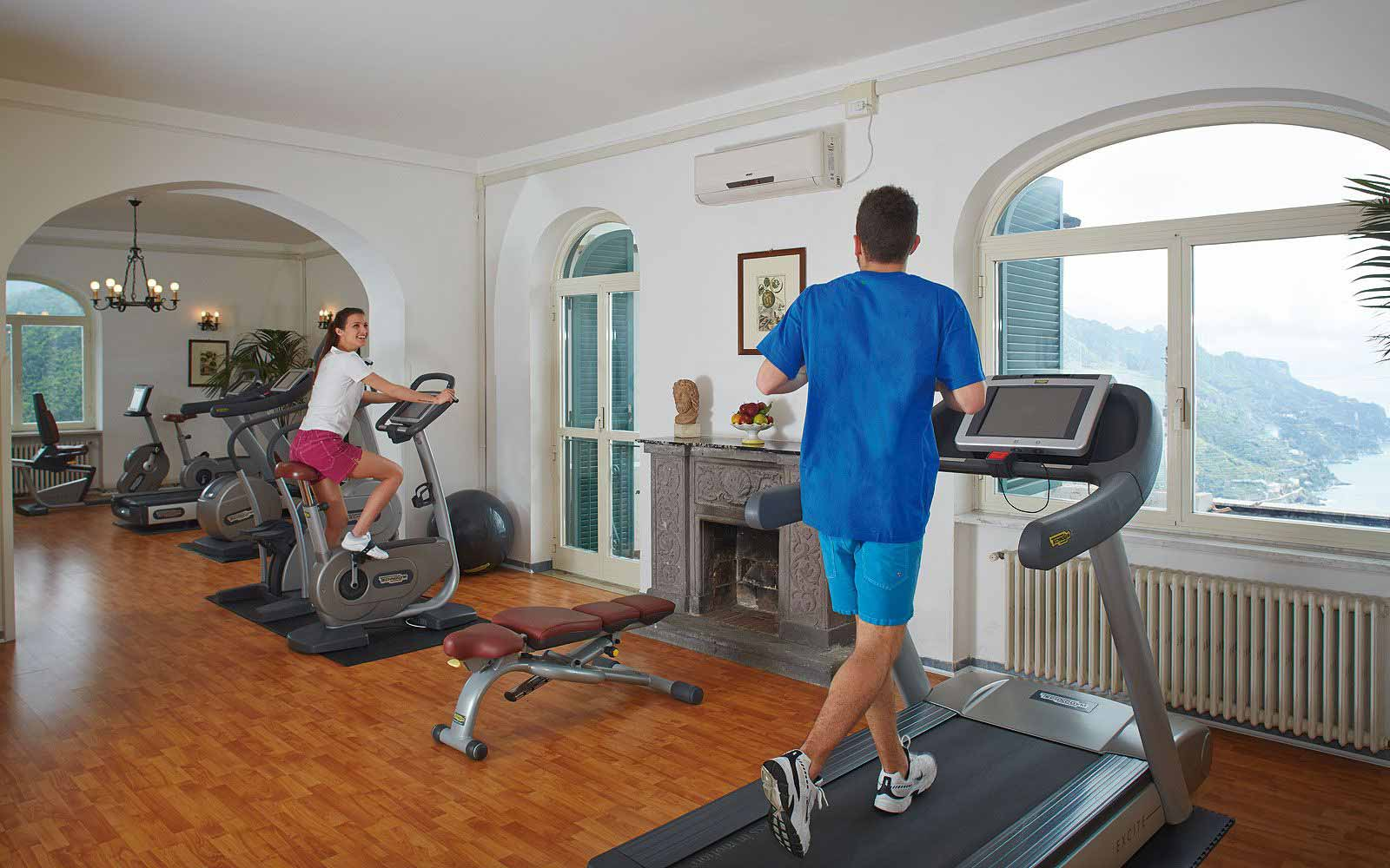Gym at Belmond Hotel Caruso