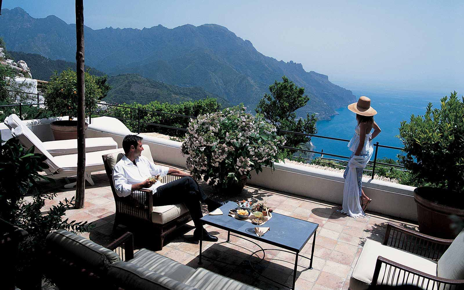 Terrace of Exclusive Suite at Belmond Hotel Caruso