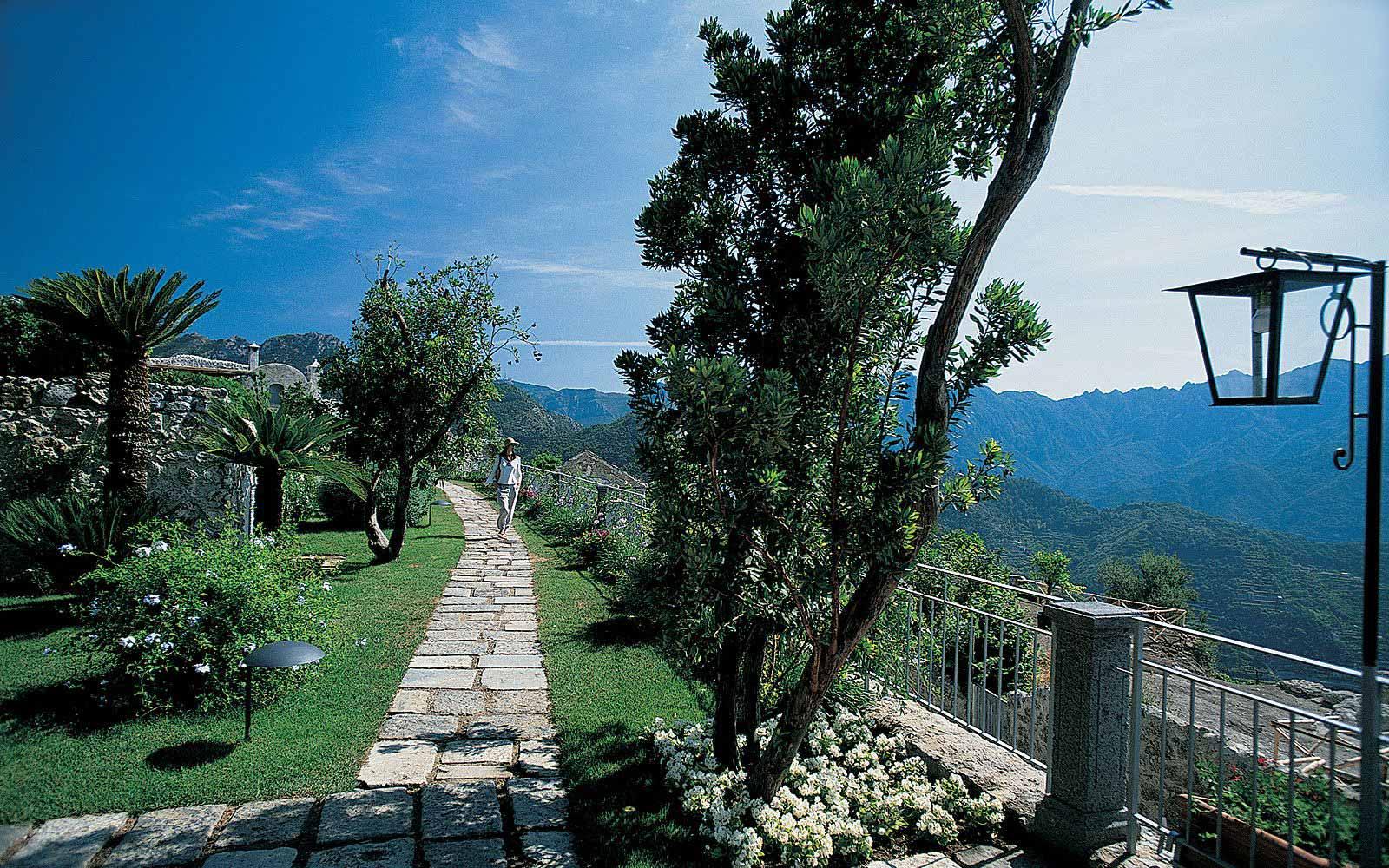 Gardens at the Belmond Hotel Caruso