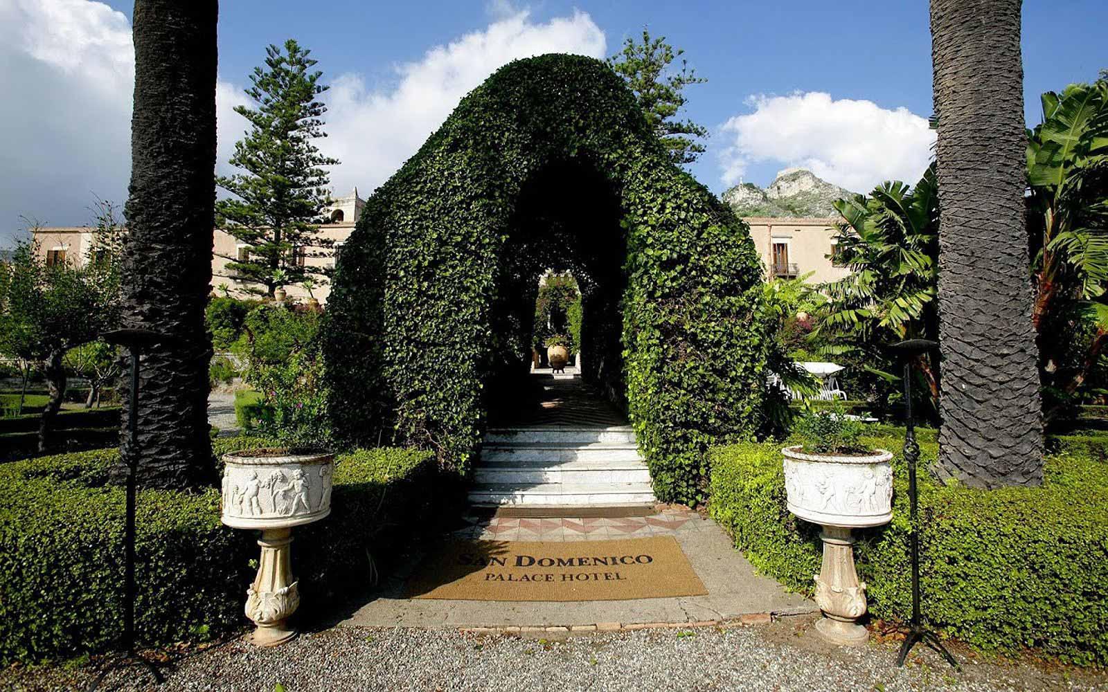 Gardens at San Domenico Palace Hotel