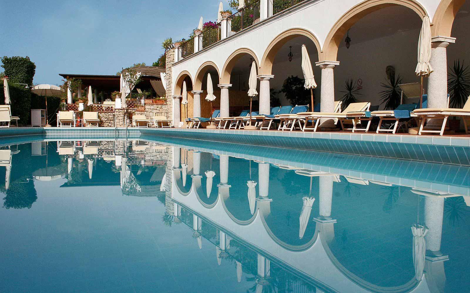 Swimming pool at San Domenico Palace Hotel