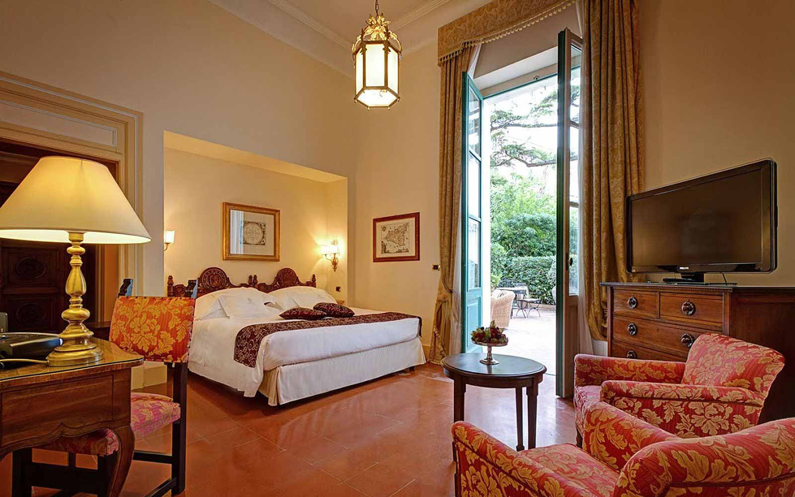 Garden suite at San Domenico Palace Hotel