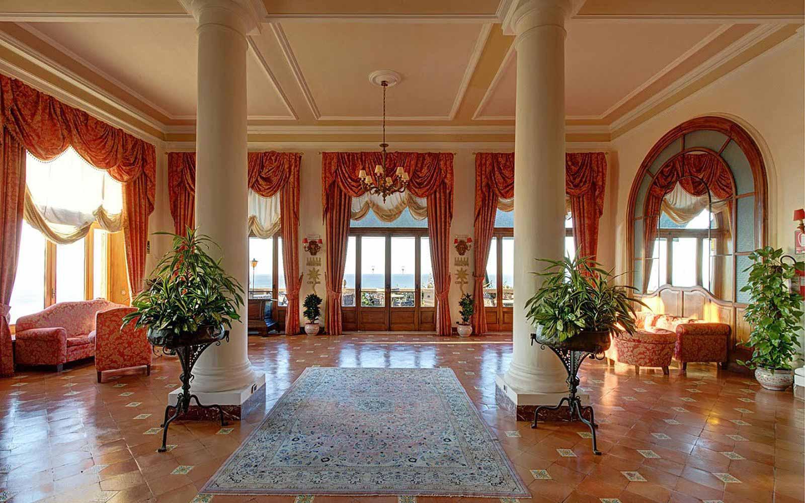 A hall at San Domenico Palace Hotel