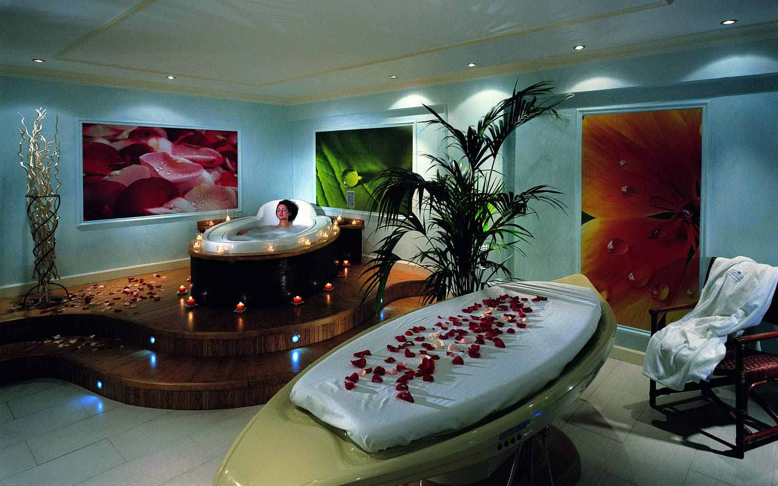 Wellness centre at Grand Hotel Mazzaro Sea Palace