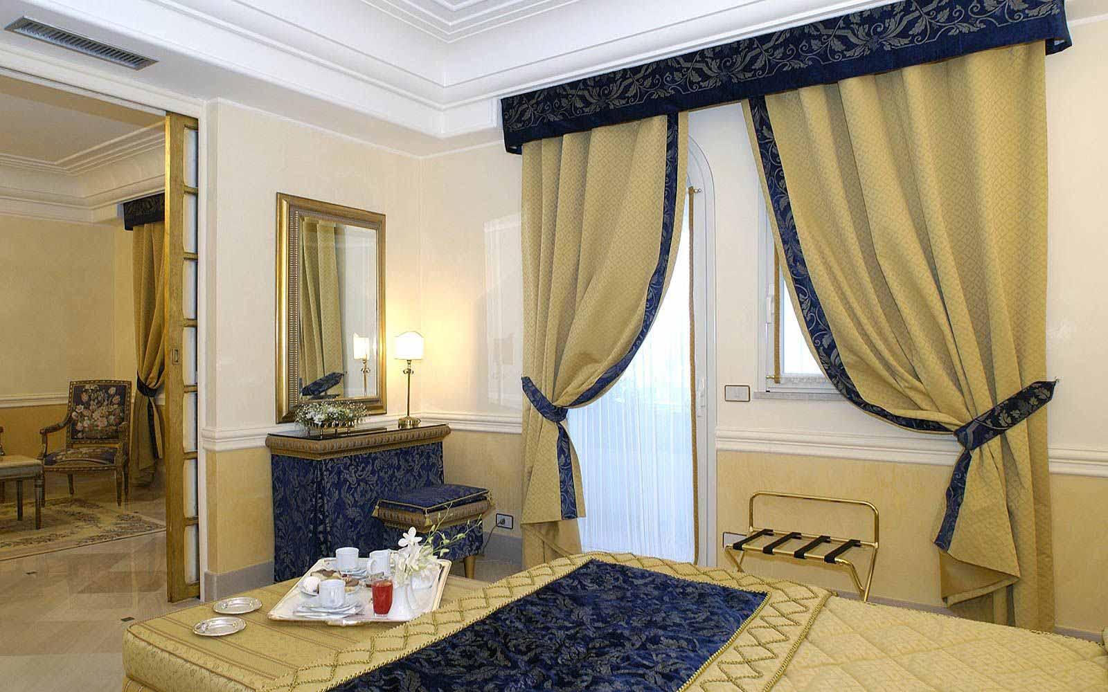 Suite bedroom at Hellenia Yachting