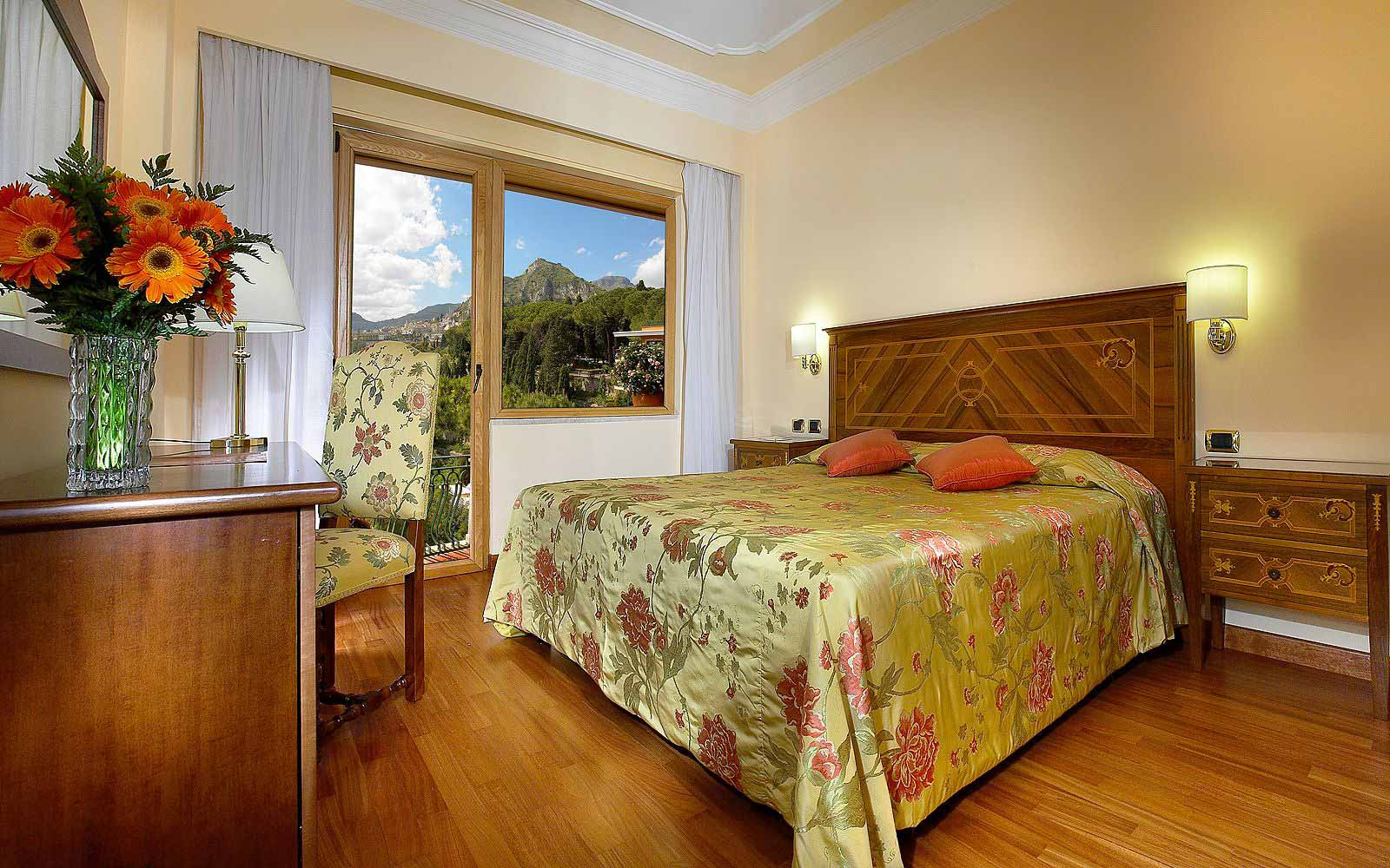 Classic room at Hotel Villa Diodoro