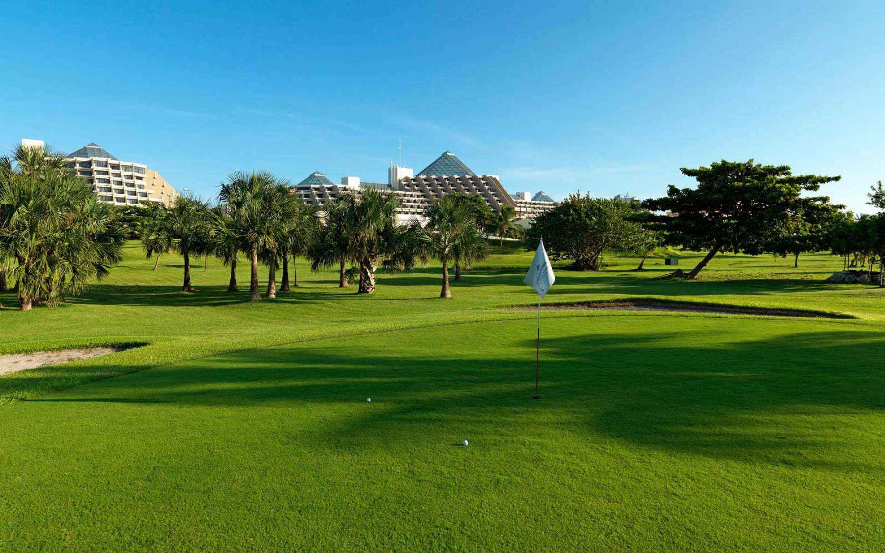 Golf Course at Paradisus Cancun