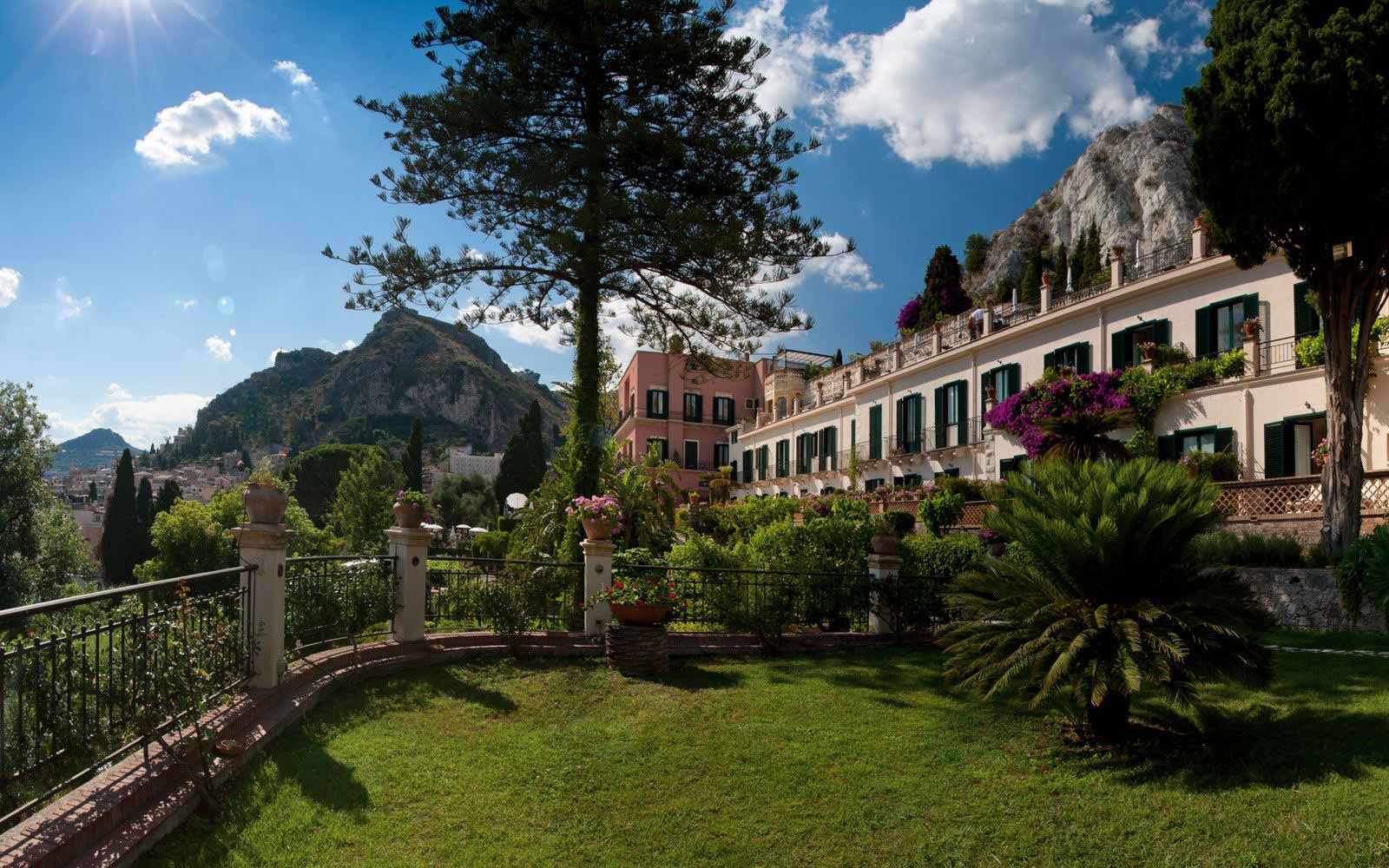 Gardens at Grand Hotel Timeo