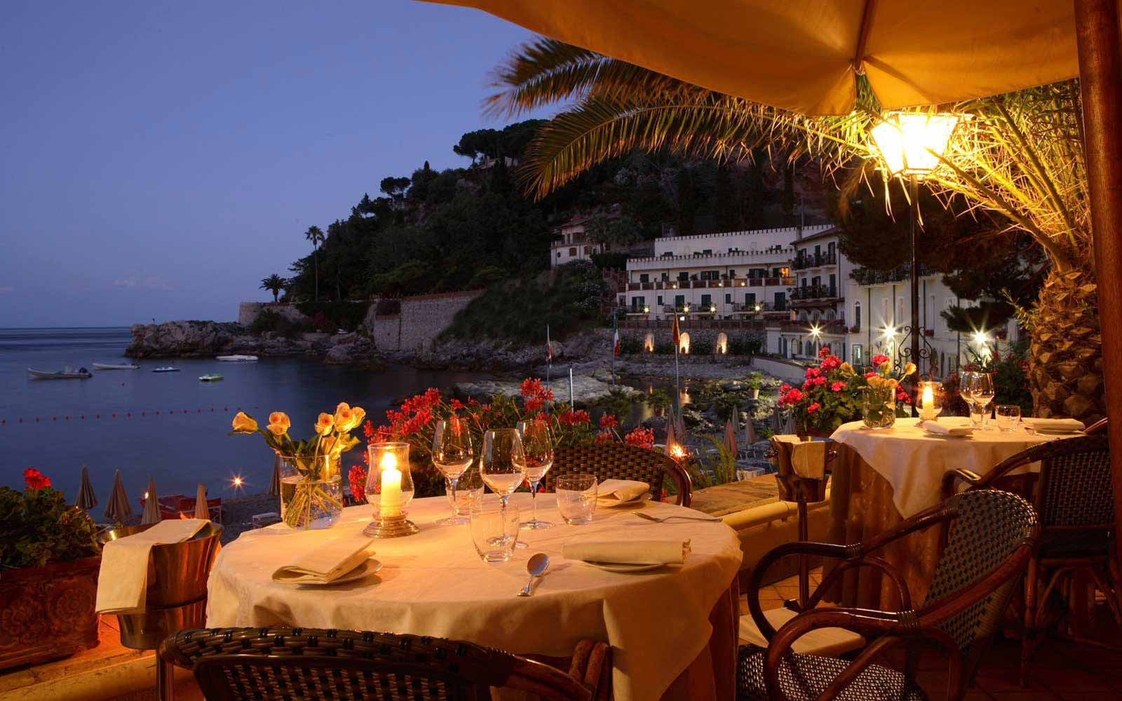 Restaurant at Belmond Villa Sant' Andrea