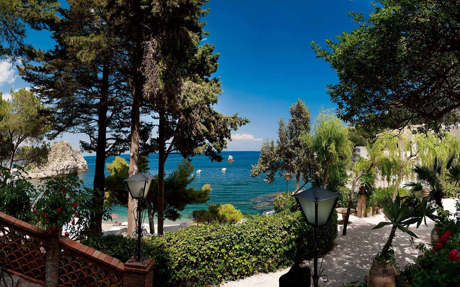 Private gardens at the Belmond Villa Sant' Andrea