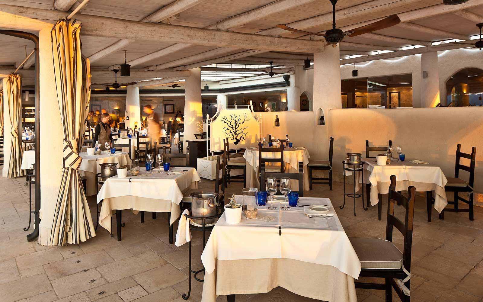 The Arcipelago restaurant at Therasia Resort & Spa