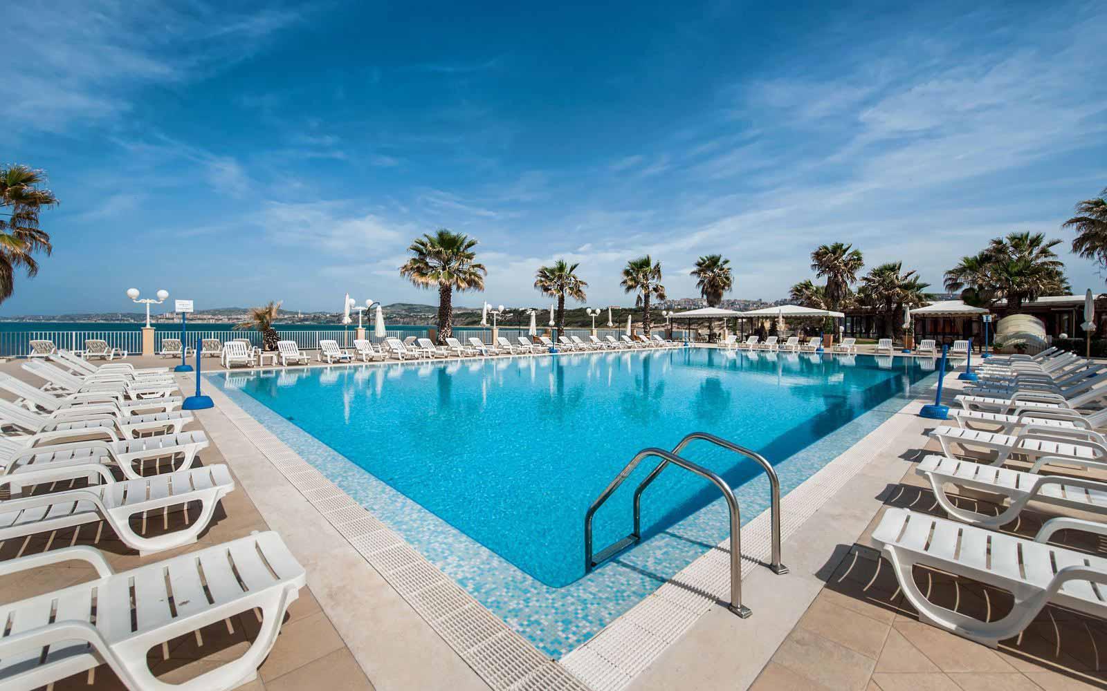 Swimming pool at Dioscuri Bay Palace