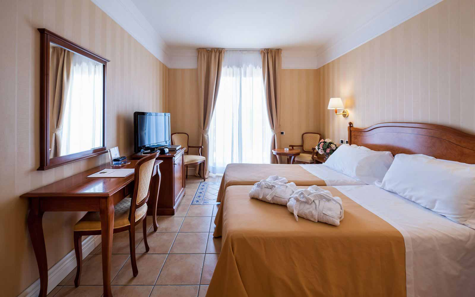Classic double room at Dioscuri Bay Palace