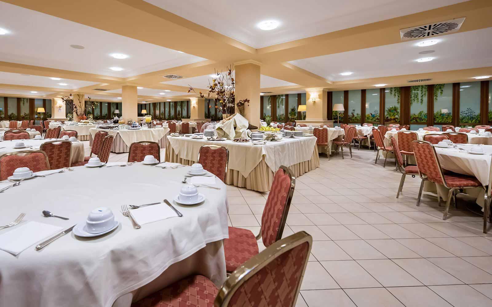 Restaurant at Dioscuri Bay Palace