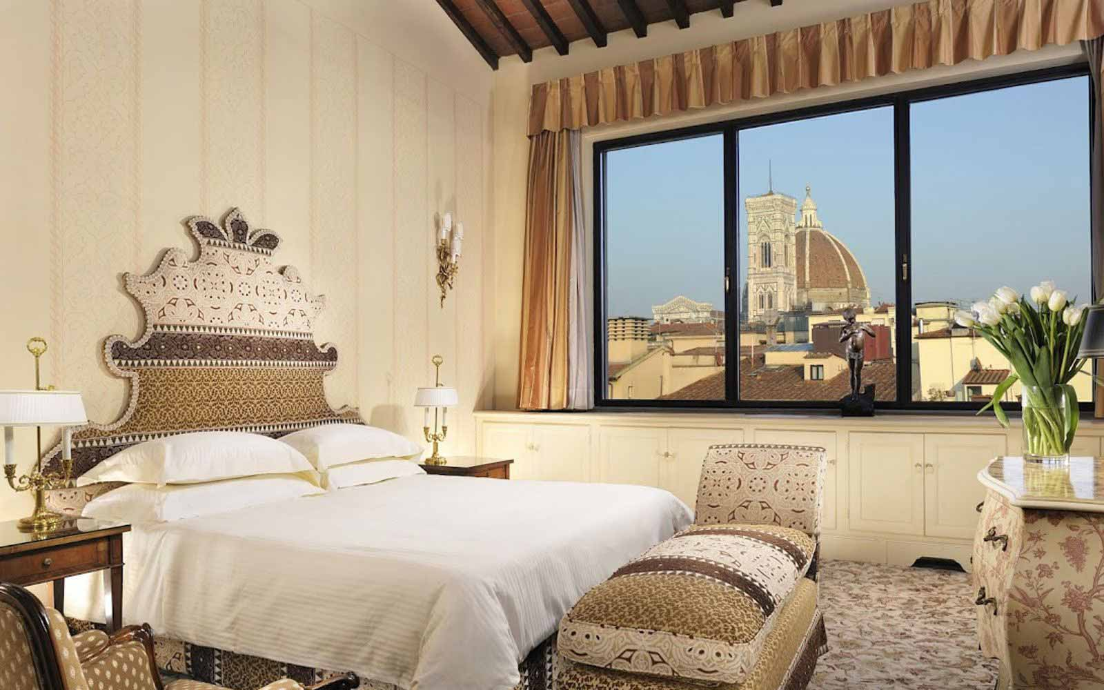 Royal suite at Hotel Helvetia & Bristol