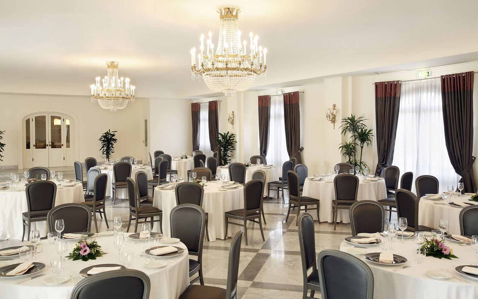 Restaurant at Hotel Giardino di Costanza