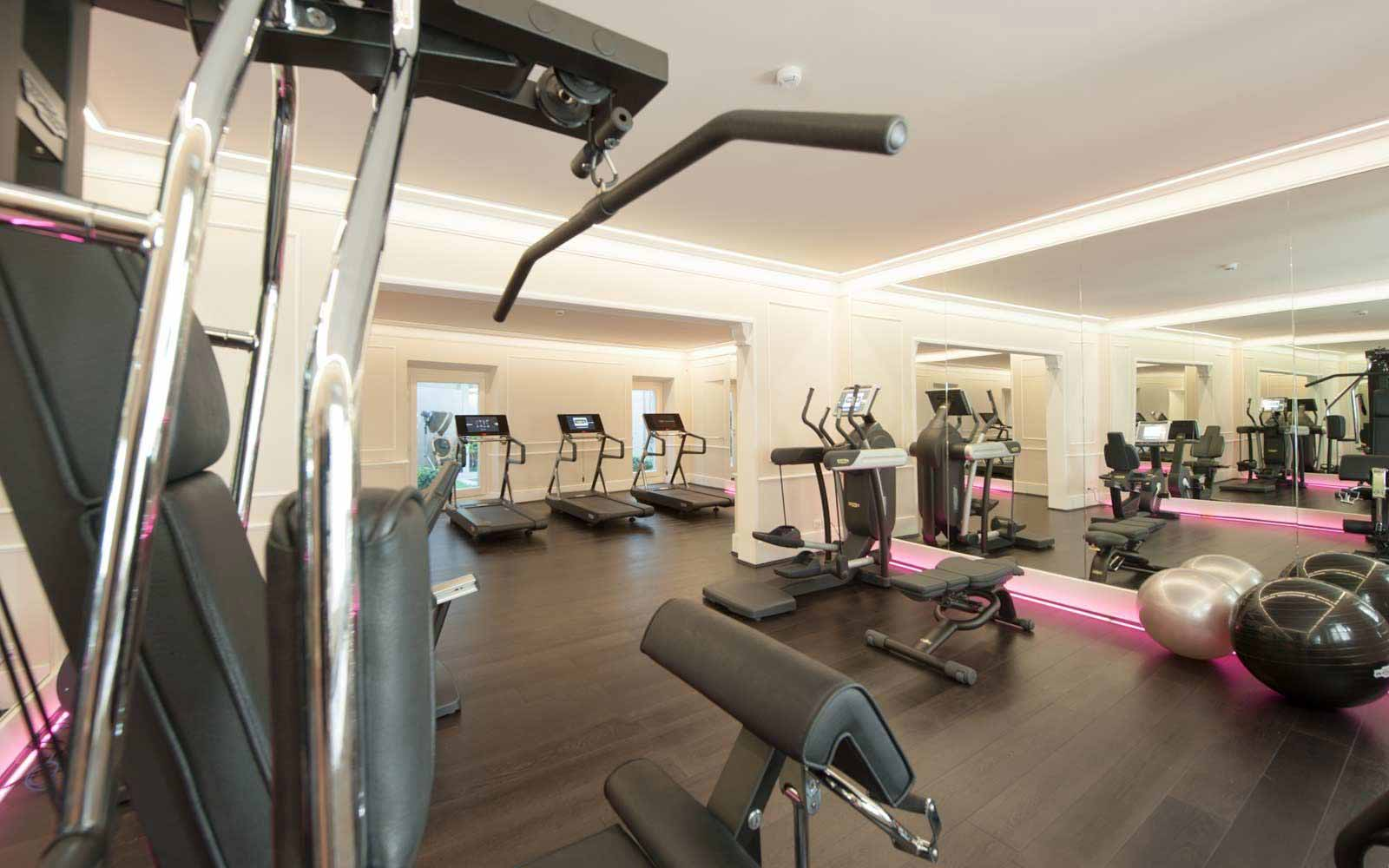 Fitness room at Hotel Brunelleschi