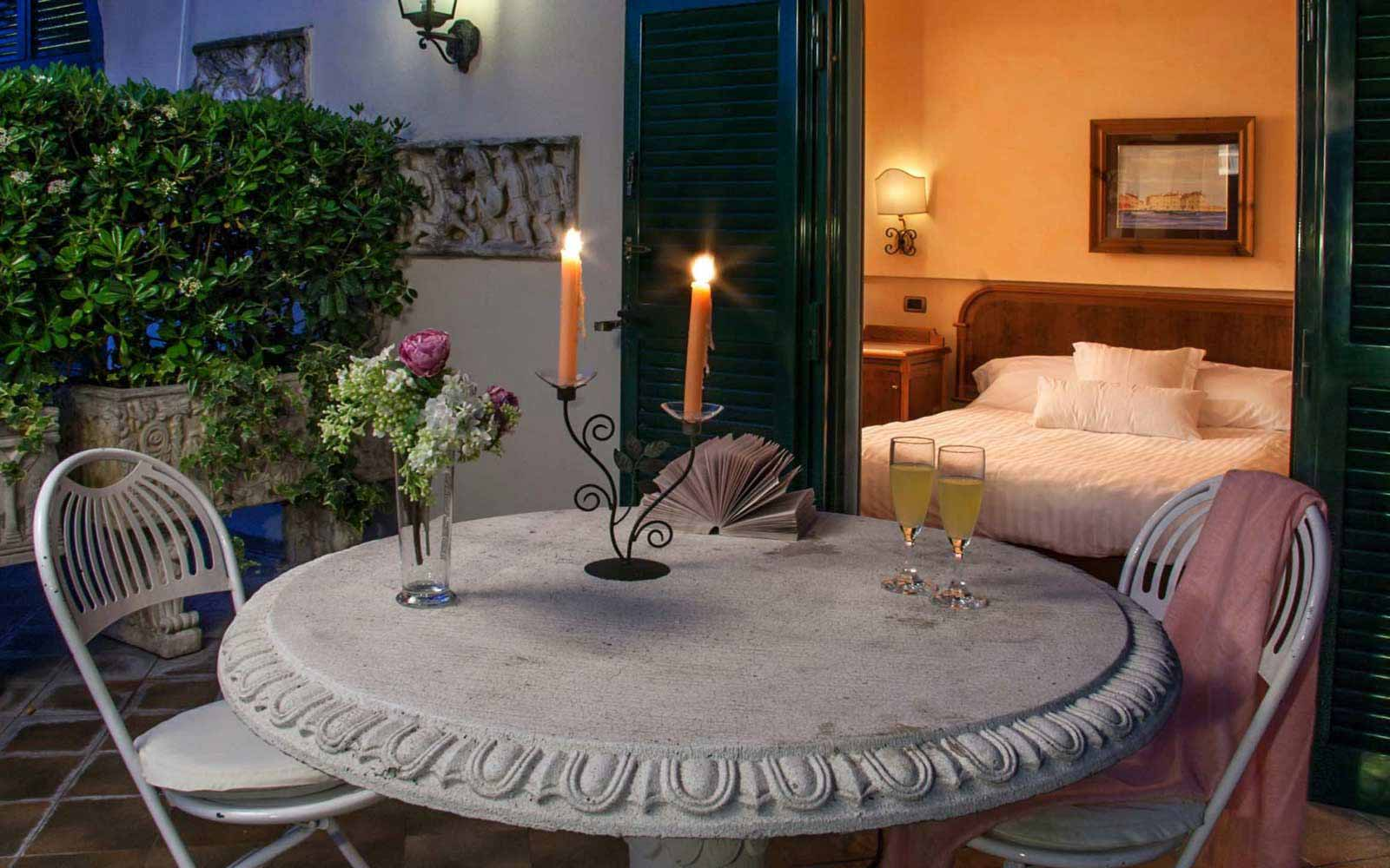 Romantic evening at Hotel Regno