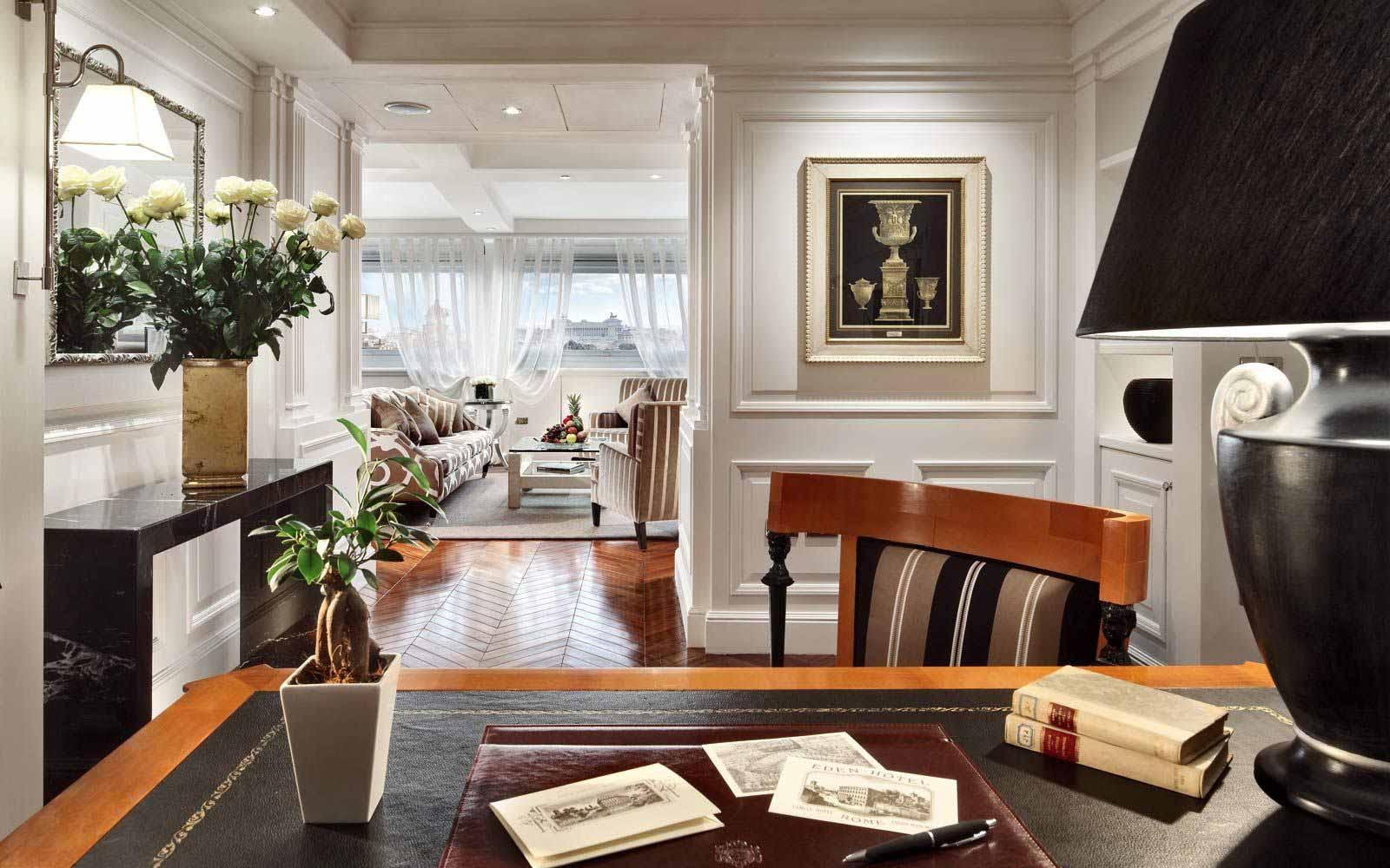 Penthouse suite at Hotel Eden