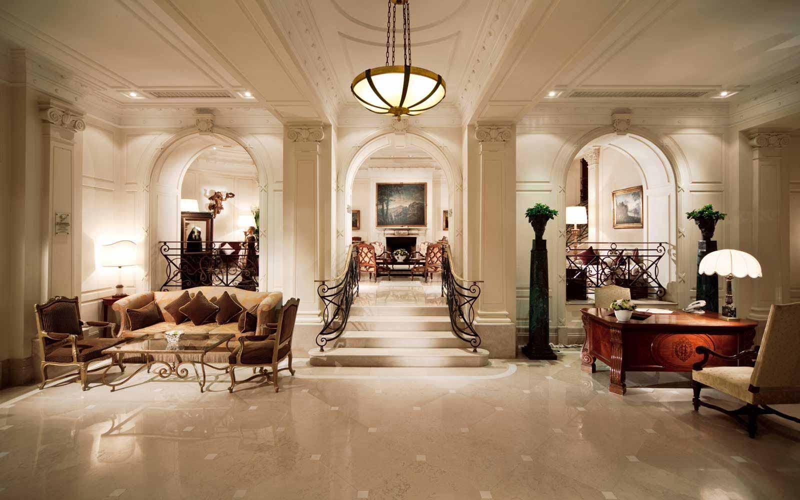 Reception hall at Hotel Eden
