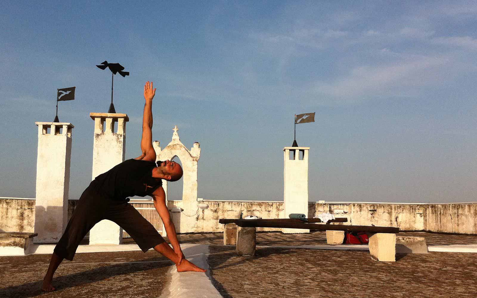 Yoga at Masseria Torre Coccaro
