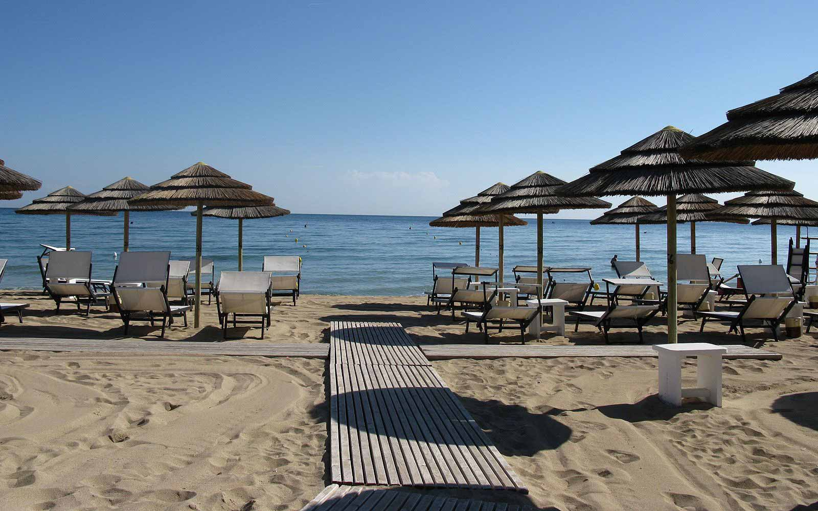 Beach at Masseria Torre Coccaro