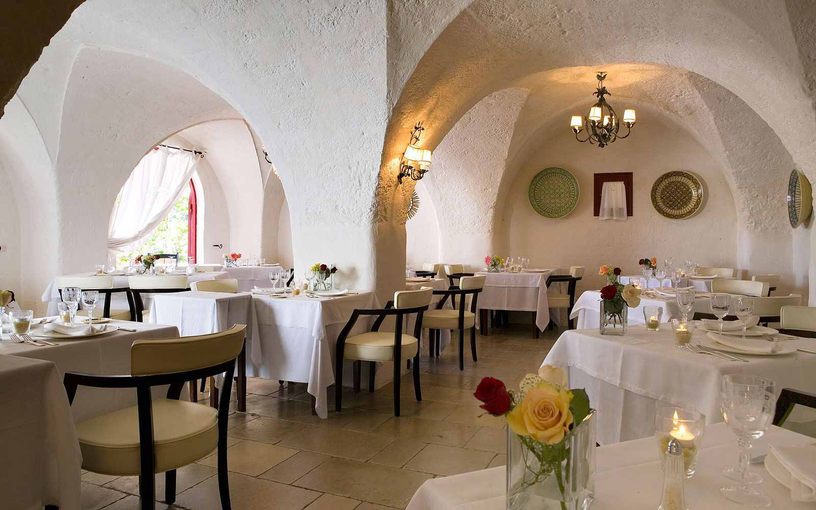 Restaurant at Masseria Torre Coccaro