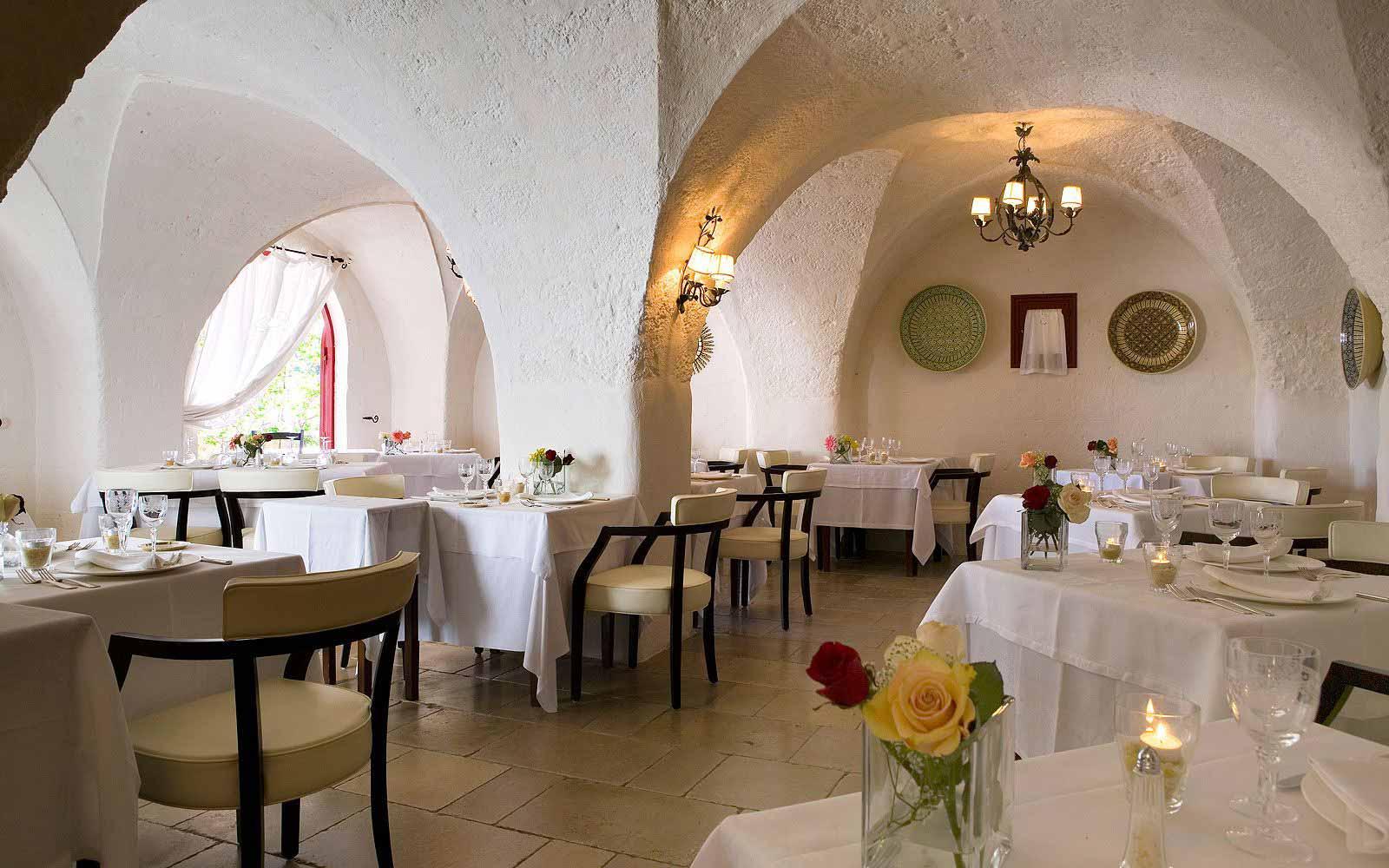 Restaurant at Masseria Torre Coccaro