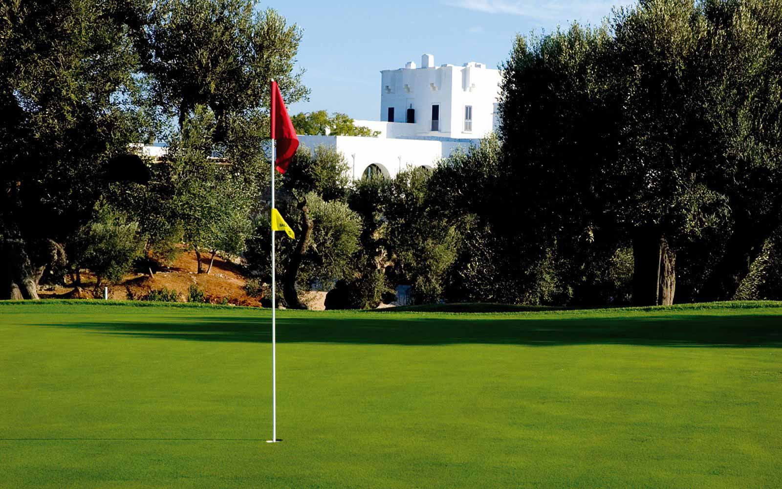 Golf course at Masseria Torre Maizza
