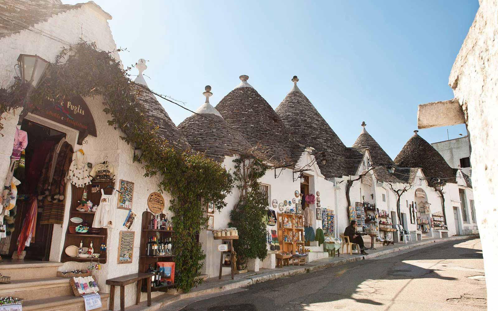 Apulian trulli near Hotel Del Levante