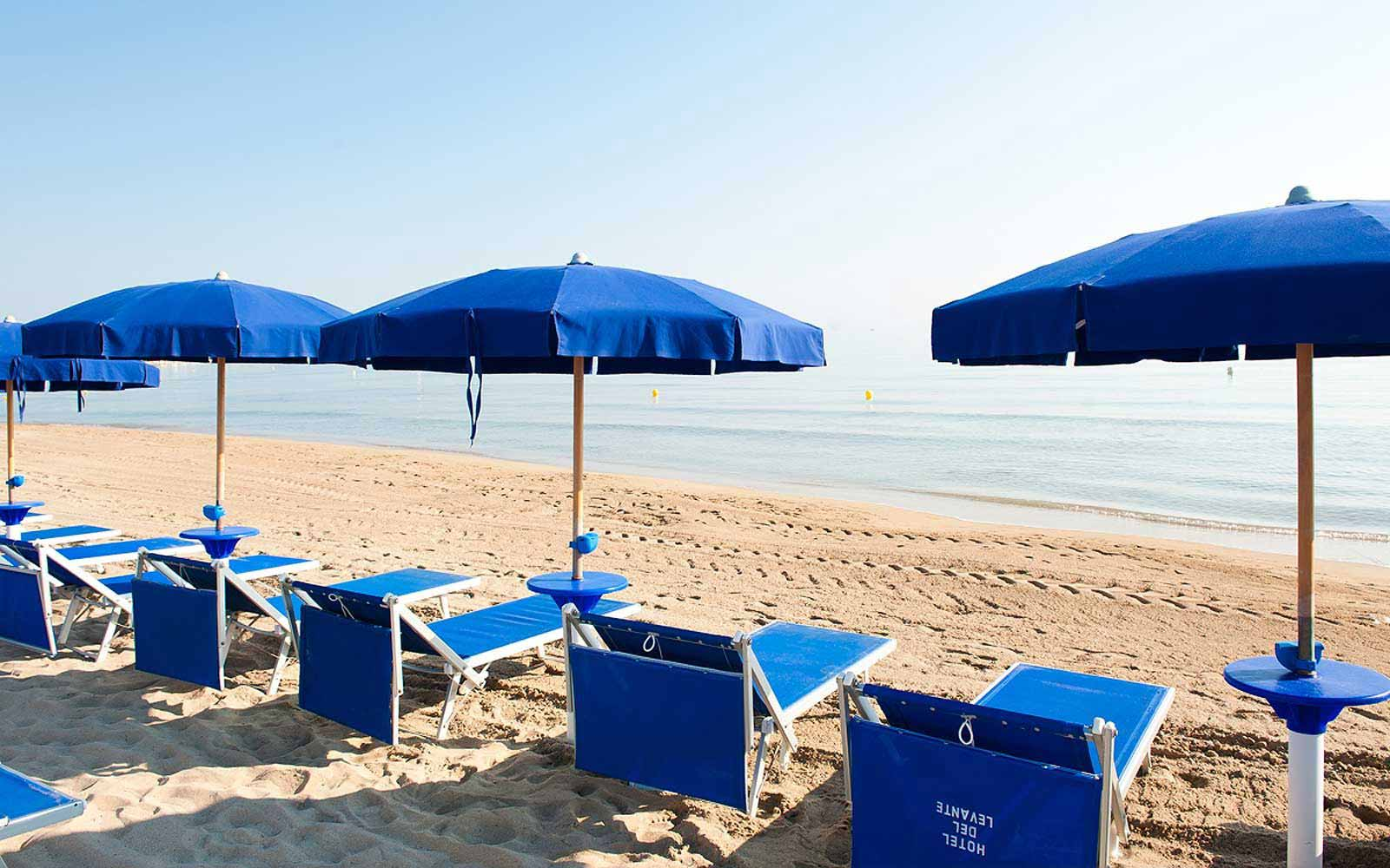Beach at Hotel Del Levante