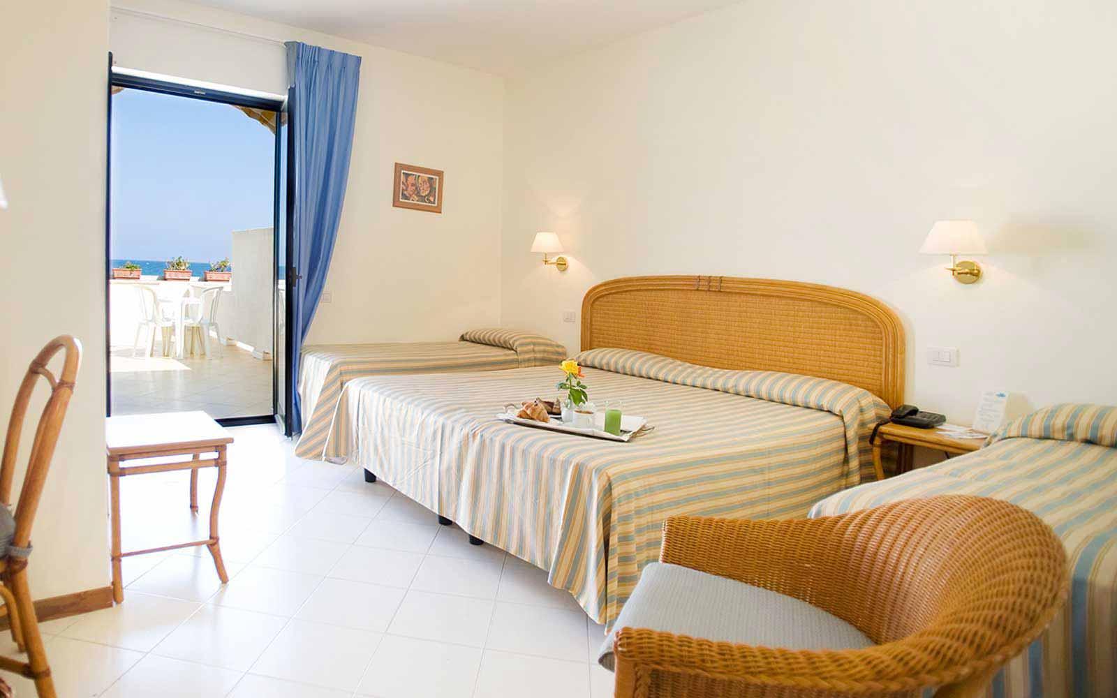 Family room at Hotel Del Levante