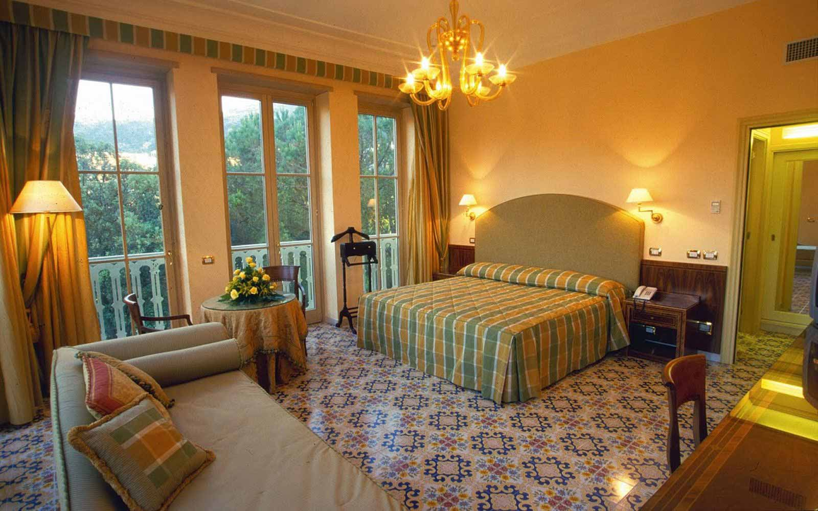 Junior suite at Hotel Antiche Mura