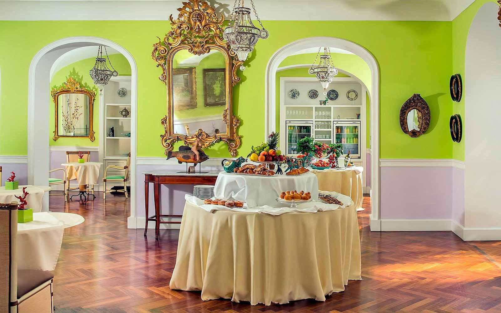 Gli Archi Restaurant at Hotel Bellevue Syrene
