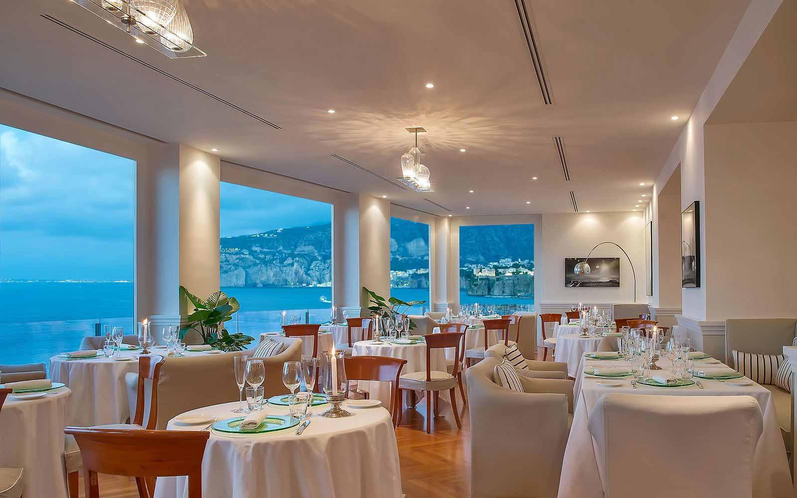 Mimmo Jodice Restaurant Restaurant at Hotel Bellevue Syrene