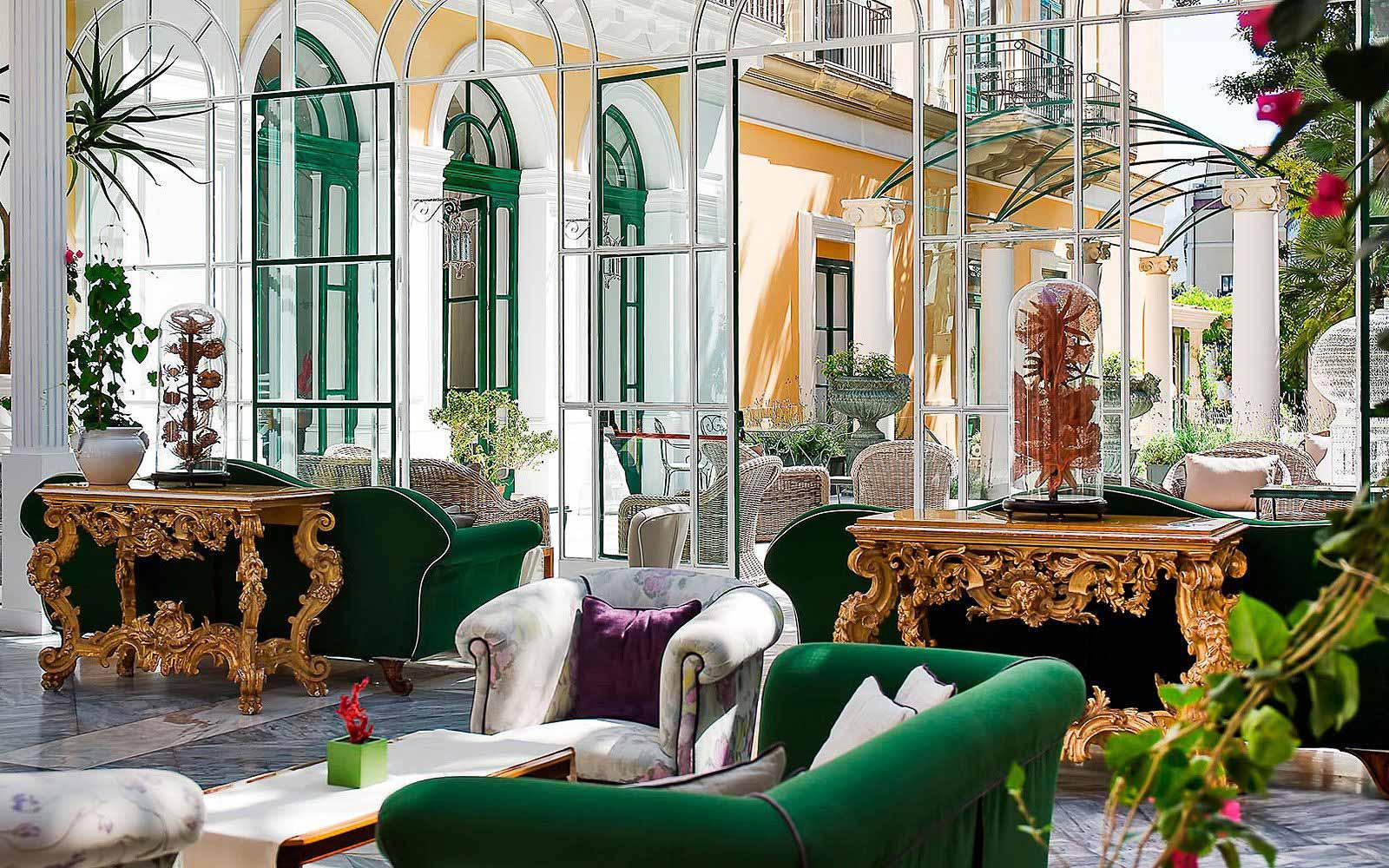 The Winter Garden at Hotel Bellevue Syrene