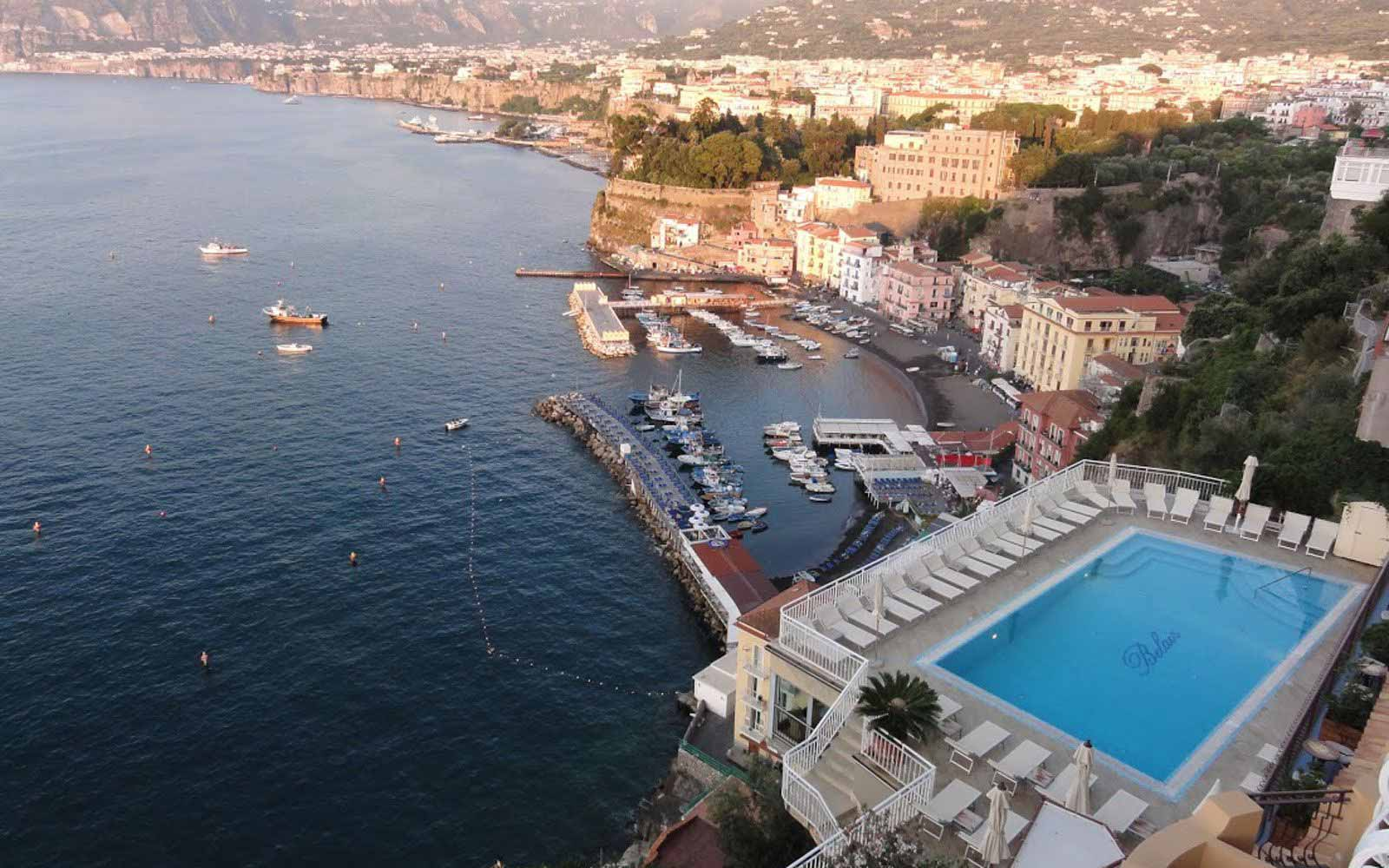 Sorrento from Hotel Belair