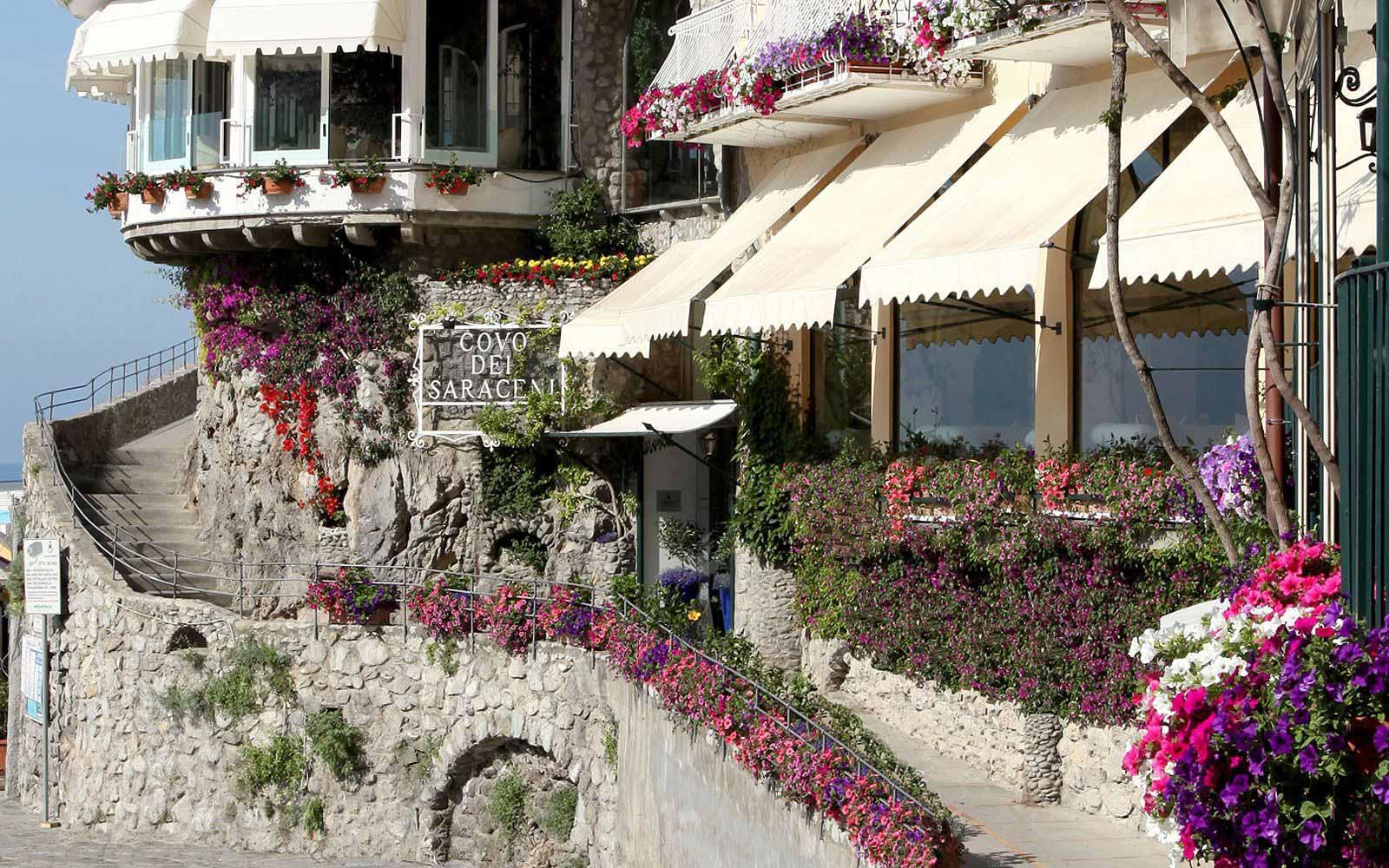 Entrance of the Covo Dei Saraceni