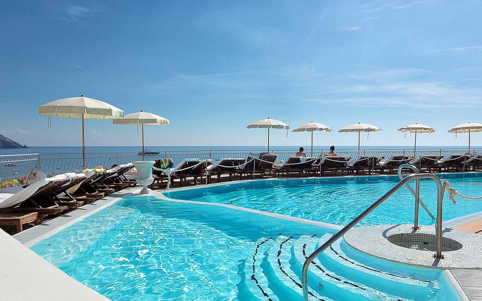 Swimming pool of the Covo Dei Saraceni