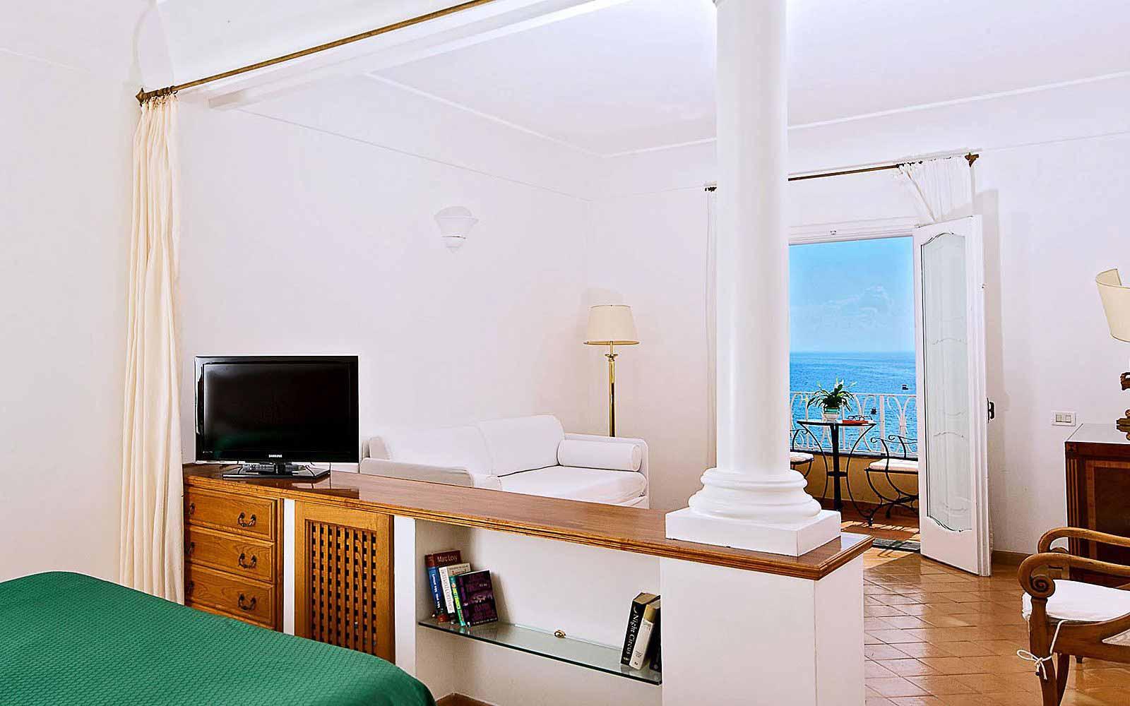 Junior Suite with balcony at Covo Dei Saraceni