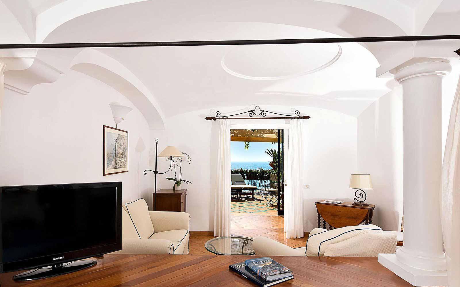 Junior Suite with terrace at Covo Dei Saraceni