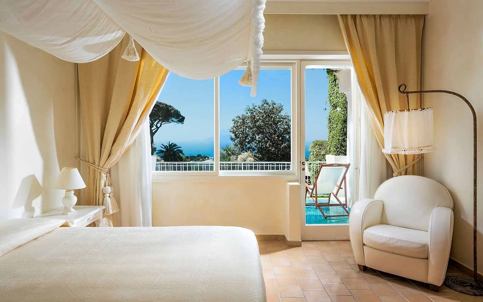 Classic Double Room sea side at Capri Palace Hotel & Spa