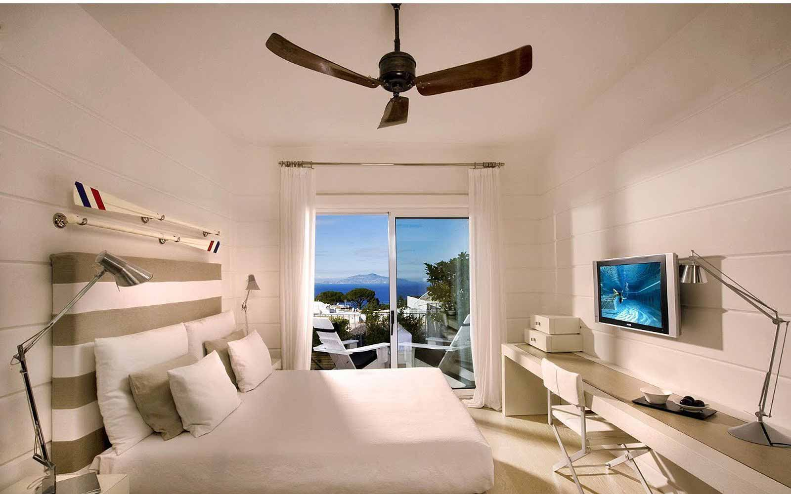 Superior Room seaview at Capri Palace Hotel & Spa