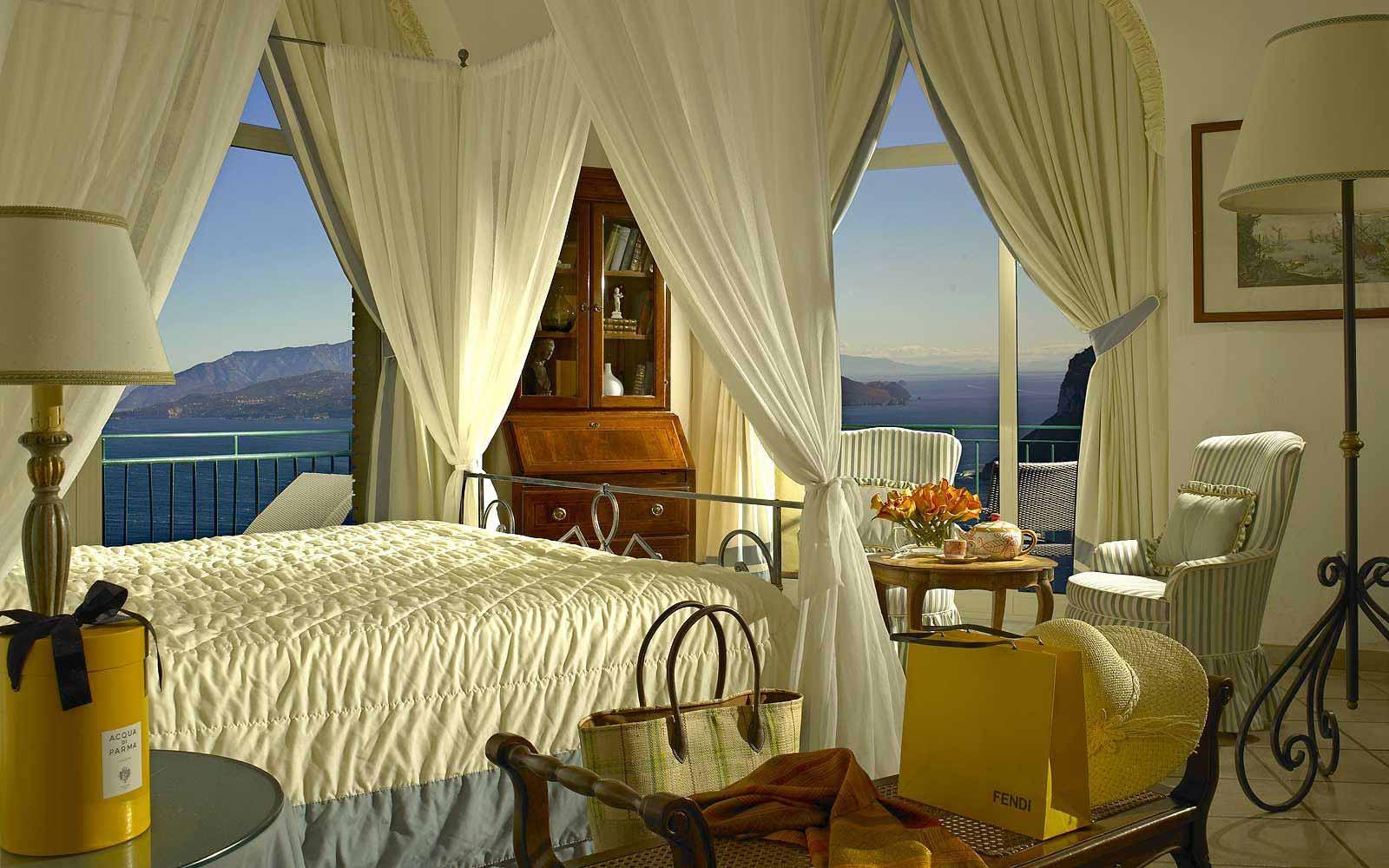 Tiberius suite at Hotel Caesar Augustus